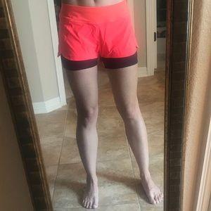 Athleta Shorts - Athleta 2 in 1 Pulse Shortie Shorts Double Layer